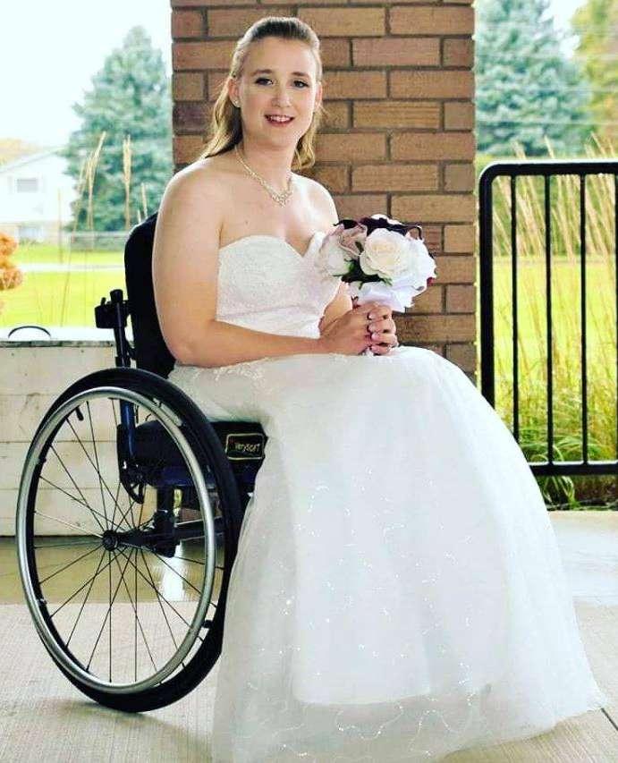 Bride Brittany Atkinson